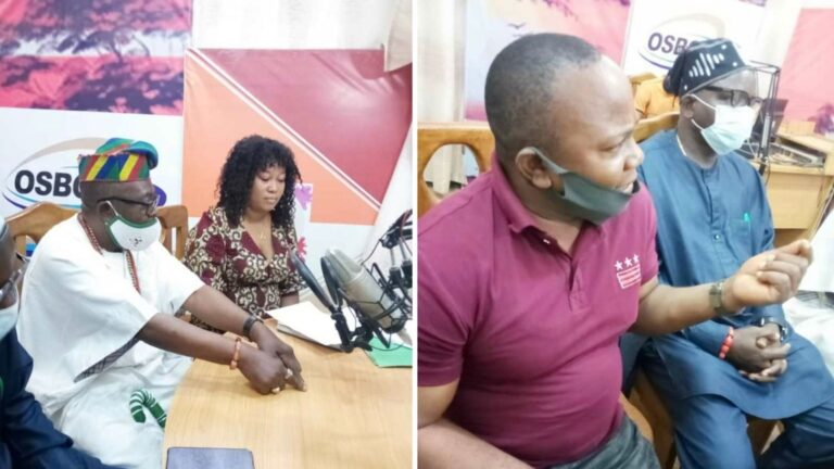 Changing mindsets on FGM Radio show in Osun State, Nigeria