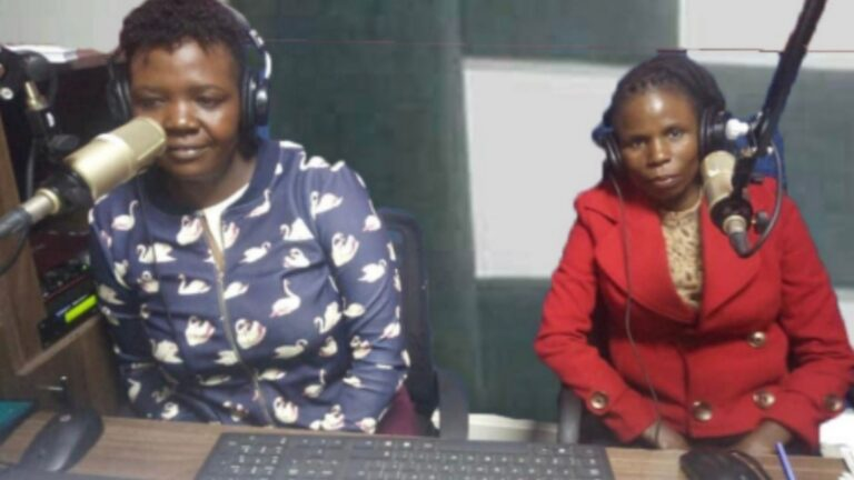 Anti FGM Male Champion speaks out against FGM on Radio in Meru county, Kenya