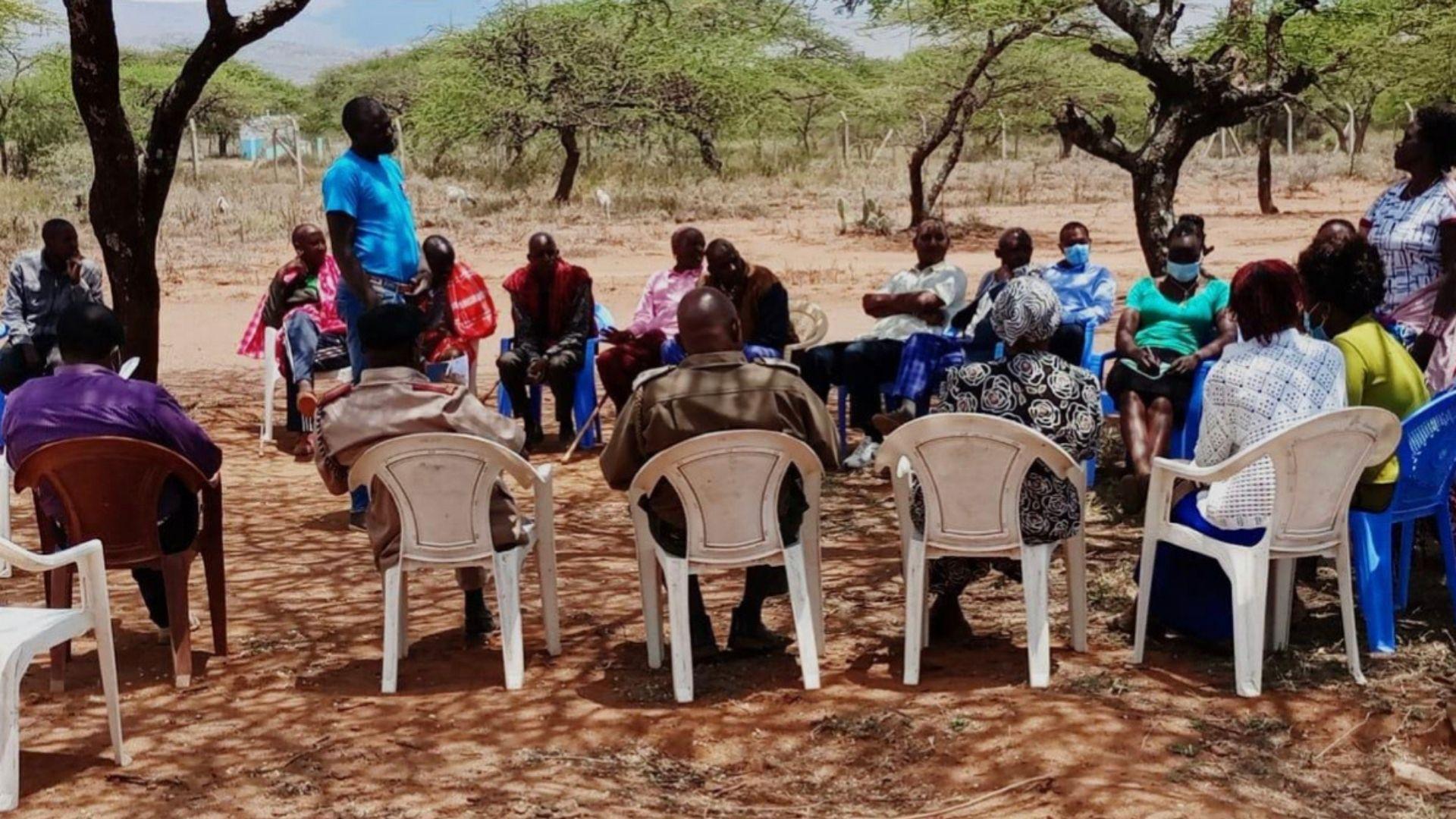 Radio feature on ending FGM for IWD in Kajiado West, Ewuaso
