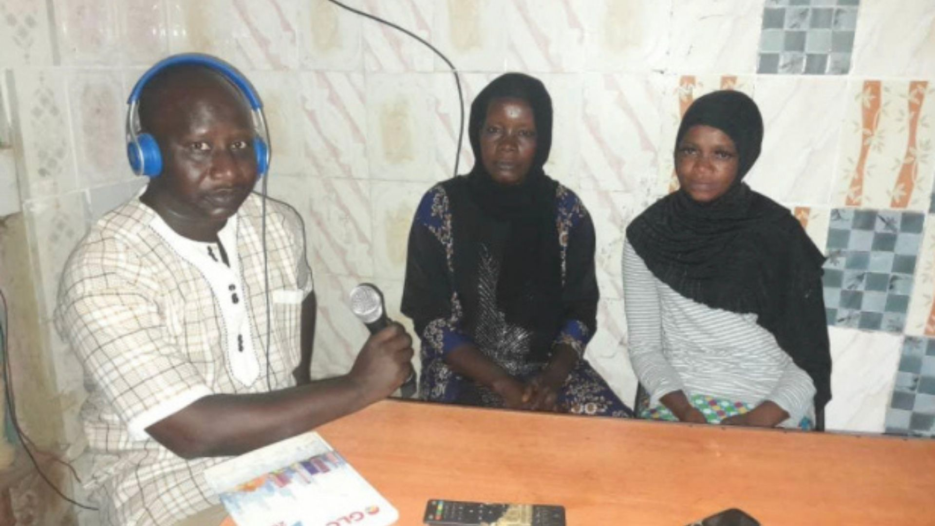Female Cutter Speaks Out on the Radio in Ebrima Saidkhan, The Gambia