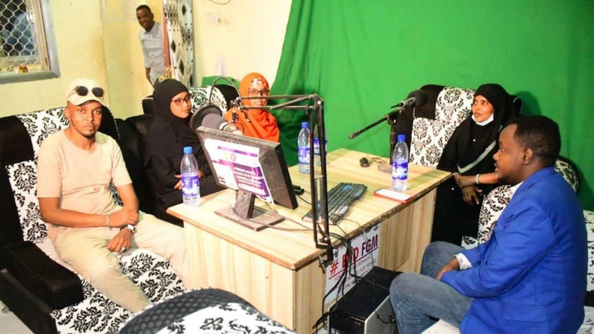 Radio and TV talks Accelerate End FGM campaigns across Galmudug, Somalia