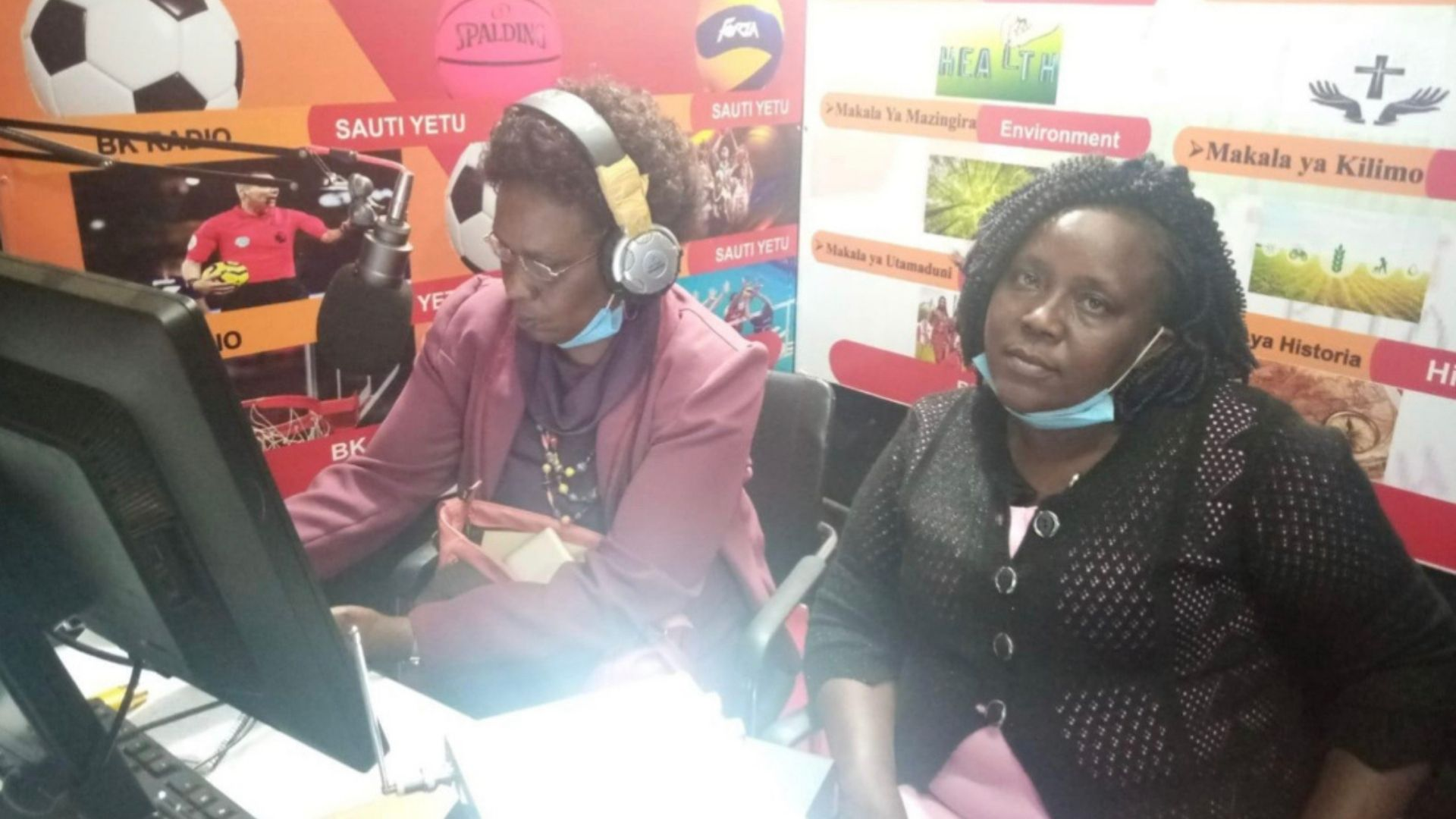 Radio talks on Women in leadership to combat FGM during the COVID-19 Pandemic