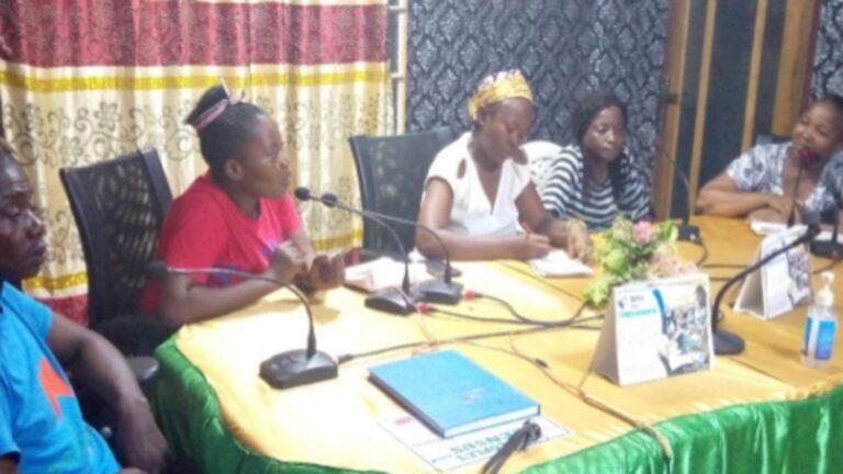 Anti FGM Media Activities Inspire School Clubs, in Port Loko, Sierra Leone