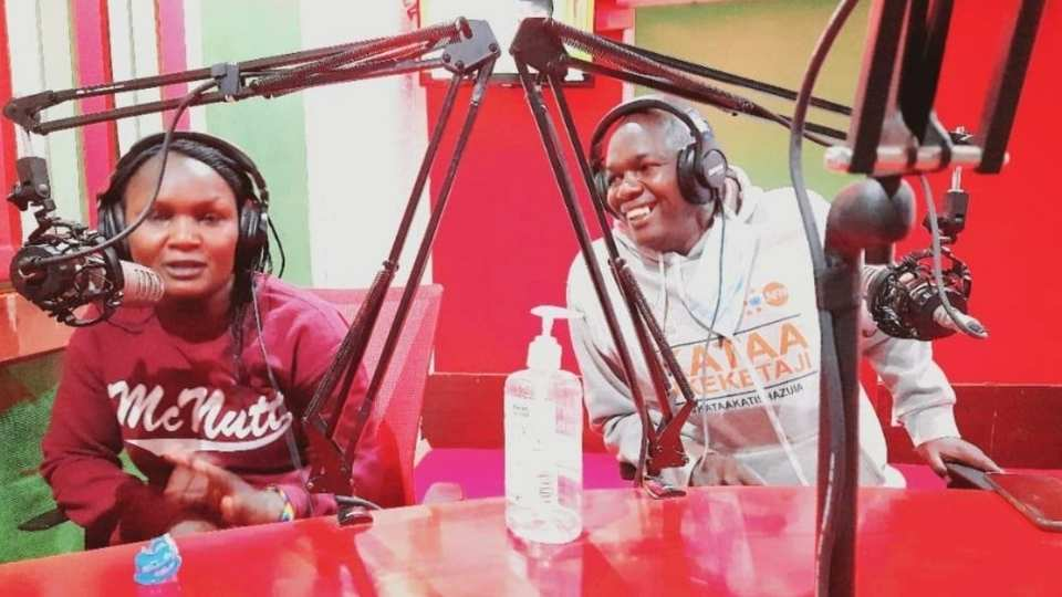 Radio Talk show discuss FGM laws in Baringo County and West Pokot, Kenya