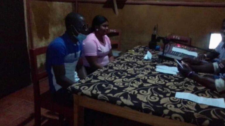 Anti-FGM media campaigners in Koinadugu state, Sierra Leone, Report on their Easter Cutting Media Campaign