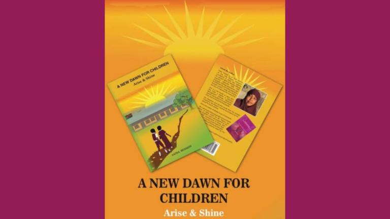 """""""A New Dawn for children"""" FGM survivor writes her second children's book, sensitising children about their rights"""