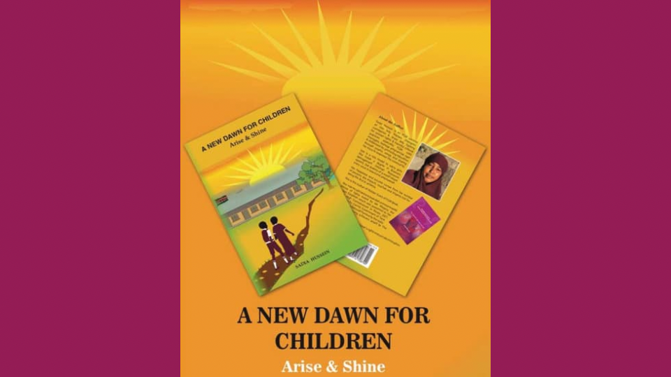 """A New Dawn for children"" FGM survivor writes her second children's book, sensitising children about their rights"